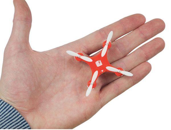 只有火柴盒大小的SKEYE Nano,可能是世界上最小的无人机1