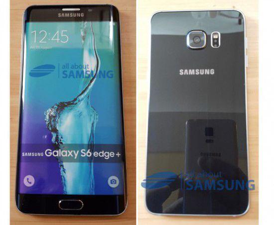 三星S6 Edge Plus曝光 有望与Galaxy Note 5一同发布