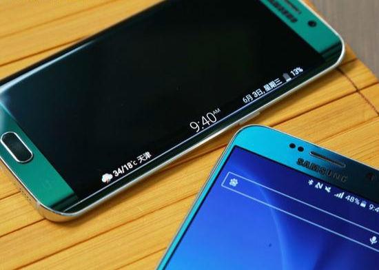 三星S6 Edge Plus曝光 有望与Galaxy Note 5一同发布2
