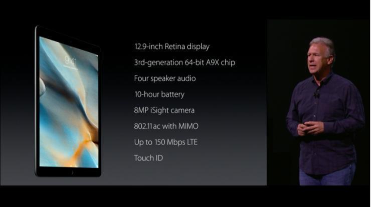 一分钟浏览苹果发布会:iPad Pro抢尽风头,完成大屏布局4