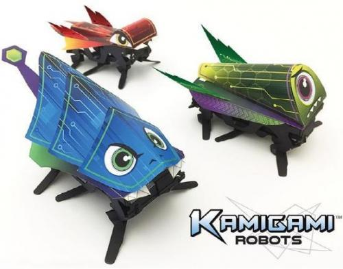 Kamigami折纸机器人,培养孩子的创新能力1