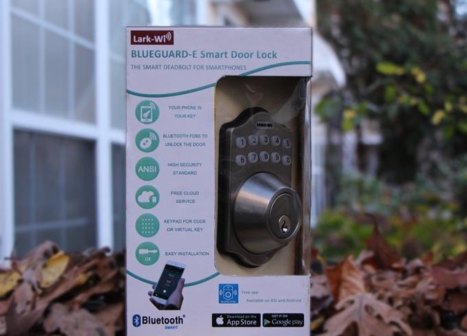 BLUEGUARD-E智能锁,门锁和手机自动组成cp1
