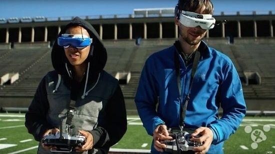 不久后,无人机将与VR碰撞出新型的体育赛事?3