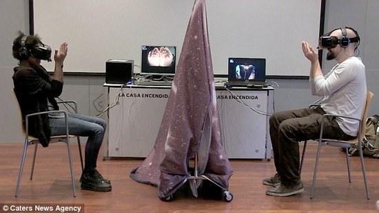 大消息:虚拟现实已经可以让你互换性别了!1