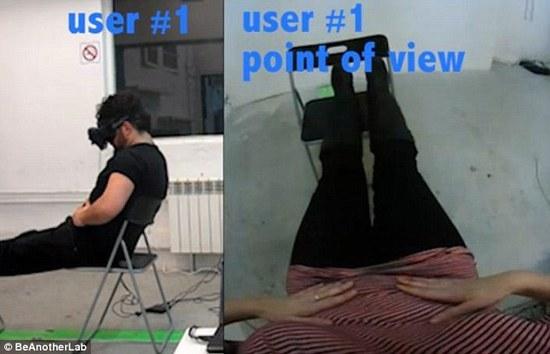 大消息:虚拟现实已经可以让你互换性别了!3
