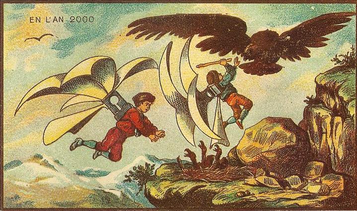 来自 100 年前不可思议的绘画预言1