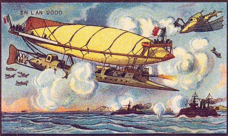 来自 100 年前不可思议的绘画预言2