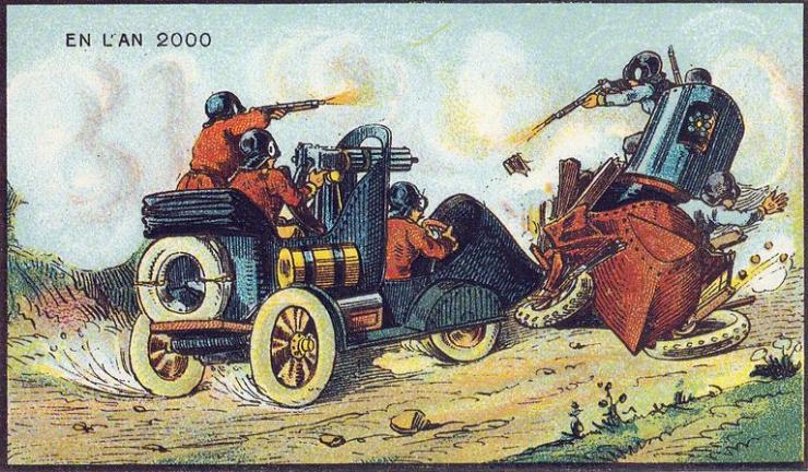 来自 100 年前不可思议的绘画预言5