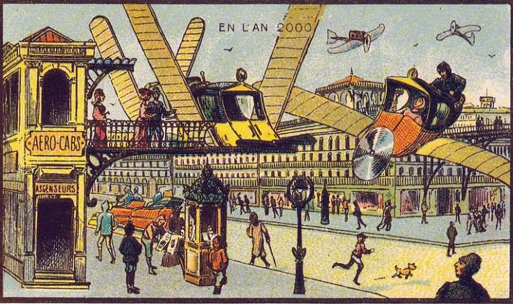 来自 100 年前不可思议的绘画预言6