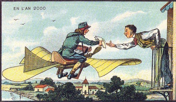 来自 100 年前不可思议的绘画预言8