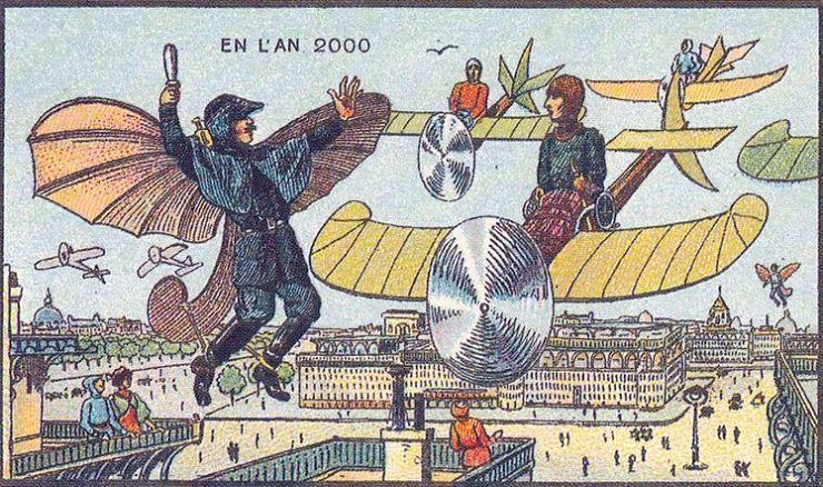 来自 100 年前不可思议的绘画预言9
