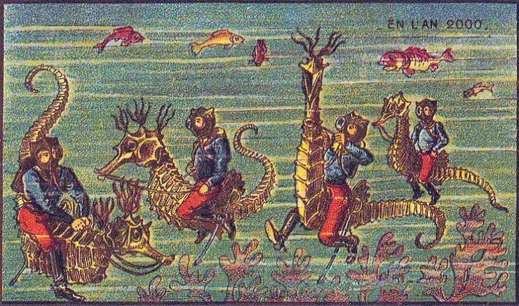 来自 100 年前不可思议的绘画预言10