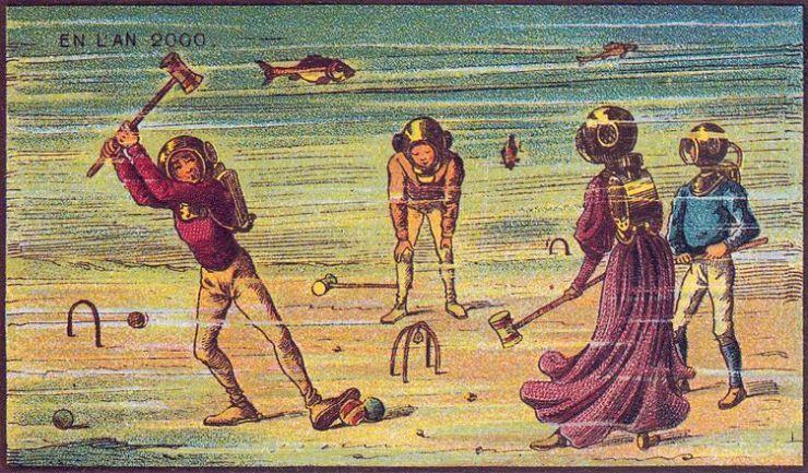来自 100 年前不可思议的绘画预言12