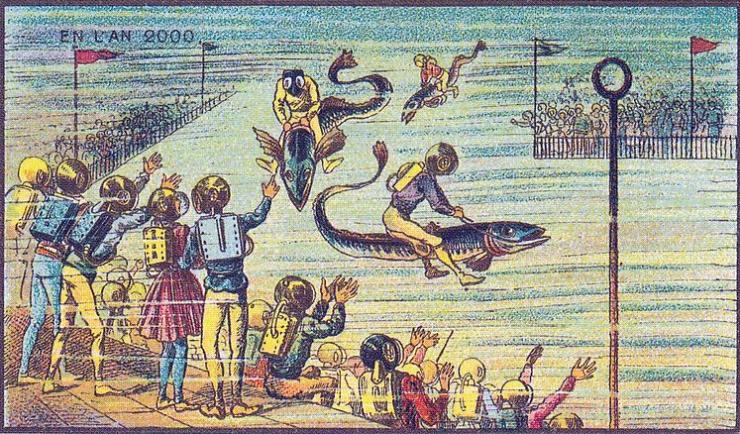 来自 100 年前不可思议的绘画预言14