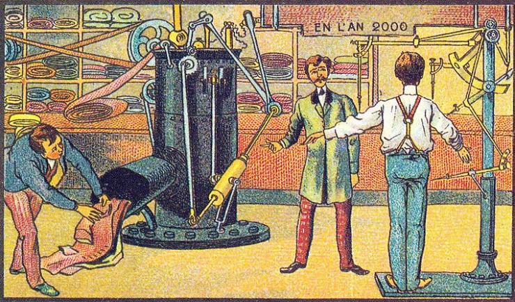 来自 100 年前不可思议的绘画预言20