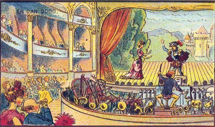 来自 100 年前不可思议的绘画预言21