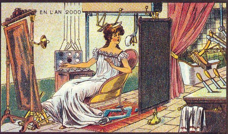 来自 100 年前不可思议的绘画预言22