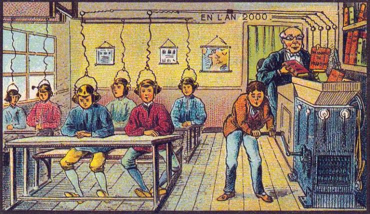 来自 100 年前不可思议的绘画预言23