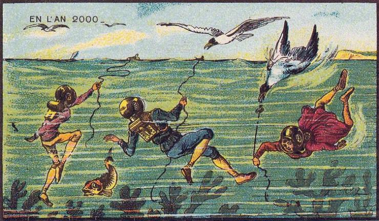 来自 100 年前不可思议的绘画预言11
