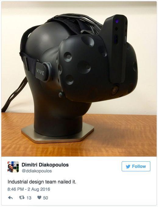 英特尔给头显装了一个尖角,让VR体验不再有后顾之忧