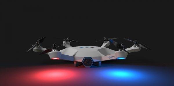 开启脑洞模式,一个关于安保无人机的未来构想
