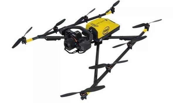 英特尔发布工业级无人机,重量轻但飞得更快
