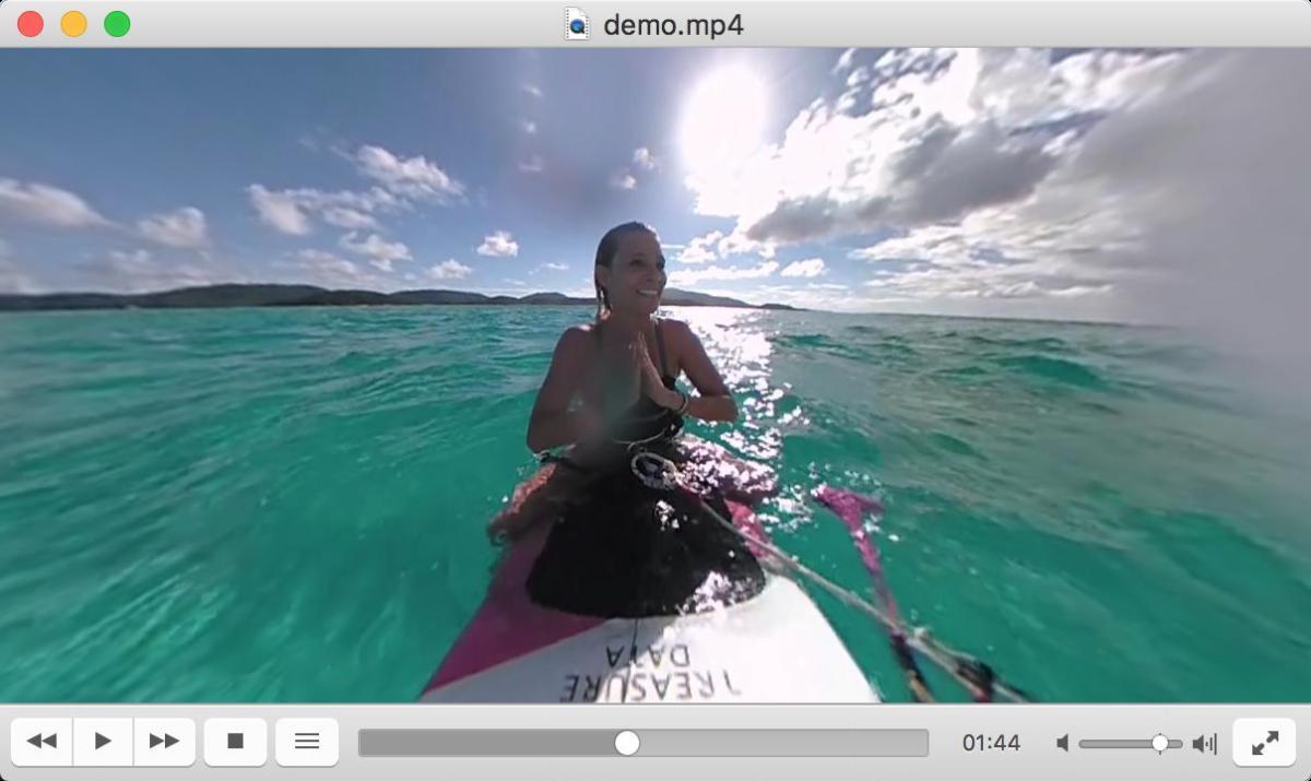顺应VR视频发展,VCL播放器开始支持360度全景视频