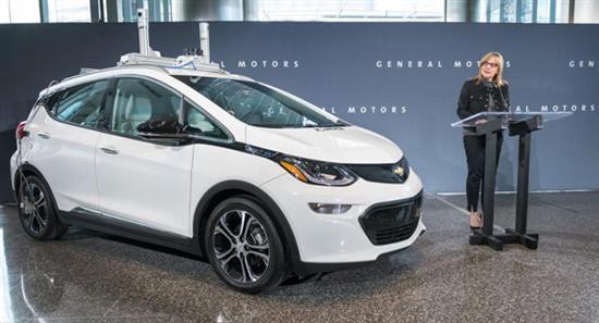通用曝光Bolt自动驾驶电动车,将在密歇根州开展测试