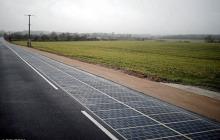 第一条太阳能发电公路Wattway在法国投用,可满足3400人夜间用电