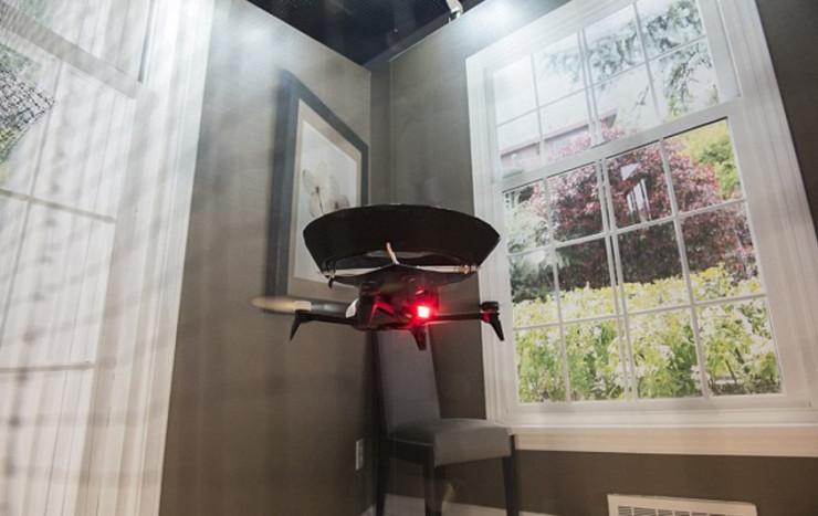 无人机帮你净化空气,这个想法不错