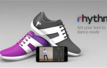 Rhythm智能舞鞋发布,它可以帮你学习如何跳舞