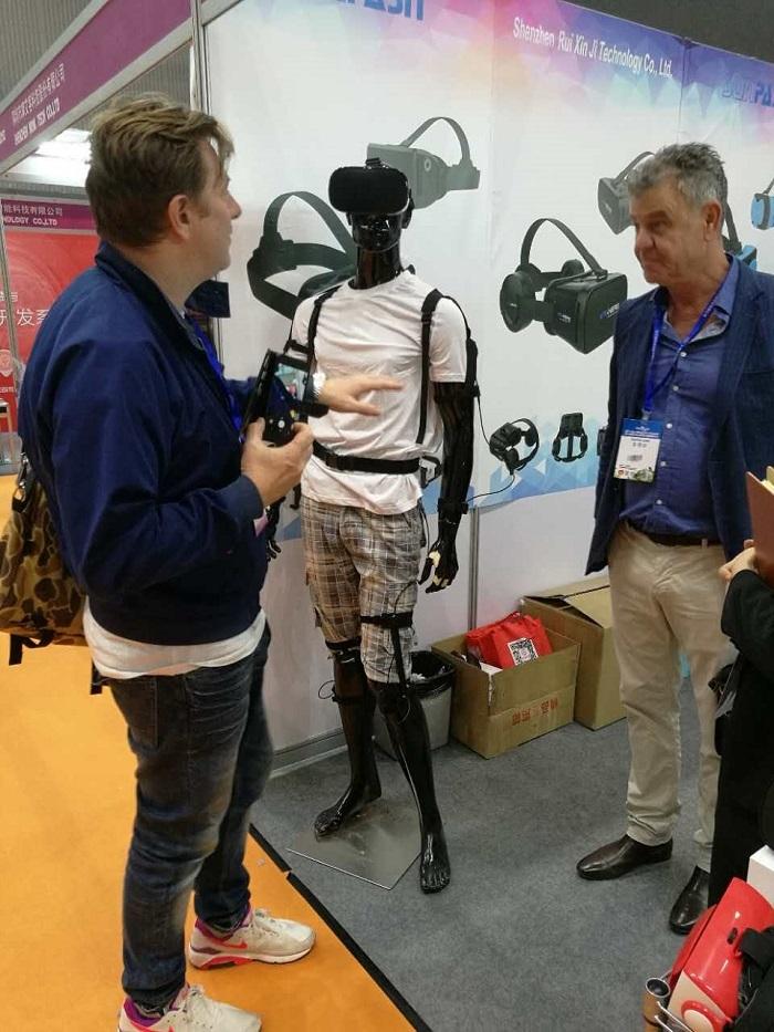 2017亚洲VR&AR博览会开幕,Xptah动捕产品掀起VR动作体验新热潮