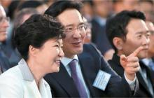 朴槿惠今天下台了,正在AWE参展的的三星和LG们还好吗?