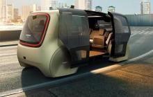 大众发布了一款无人驾驶概念车Sedric,告诉你未来的出租车长这样