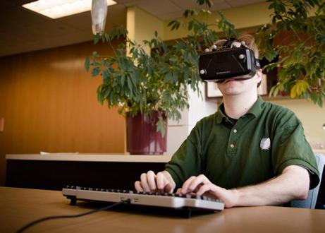 VR办公不是梦!国外高校为VR文本输入提供解决方案