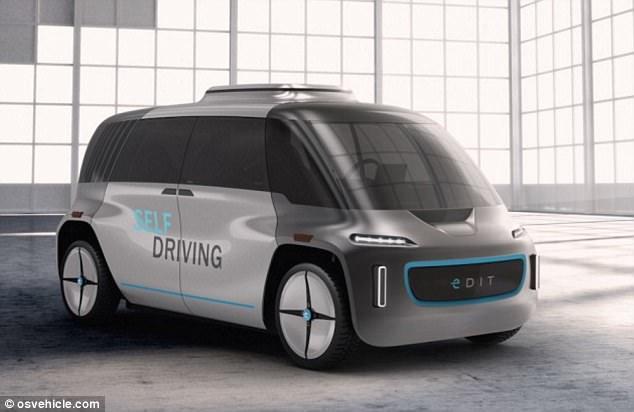模块化自动驾驶汽车,你想要的都可以DIY