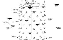 亚马逊无人机又曝新专利,打造一个巨型无人机塔楼
