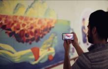MIT让艺术和技术擦出火花,画出一条AR壁画隧道