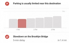 谷歌地图添加大数据功能,可以计算到达目的地的最佳时间