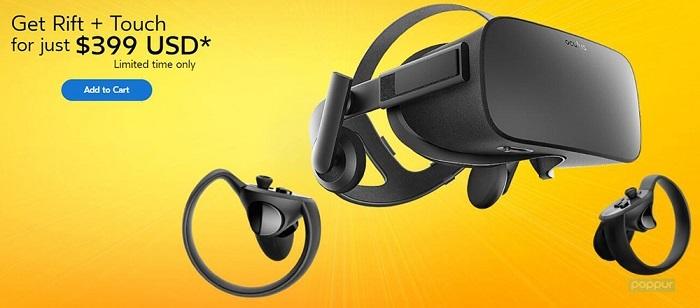 吊打友商!大降价的Oculus Rift比HTC Vive便宜300美元