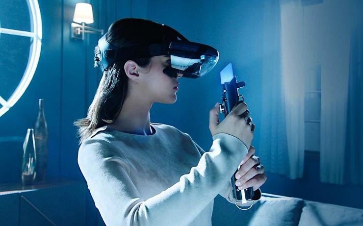 Disney牵手联想发布AR头显,还有配备激光剑的AR游戏《星球大战》