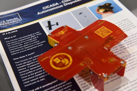 敢死队型一次性无人机,可用于恶劣环境下的数据采集