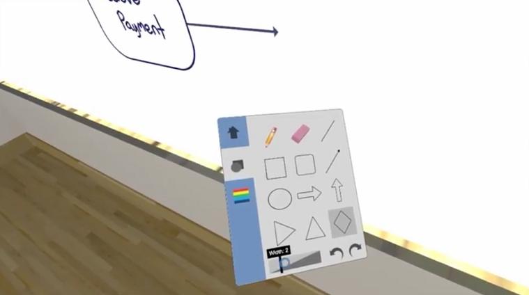 用于虚拟现实会议,CollabHub推出2D绘图VR应用