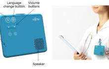 日本富士通:我们研制出了世界首款小型免提式语音翻译器