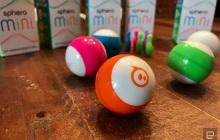 这款mini版球形机器人,既可当玩具也能教你写代码