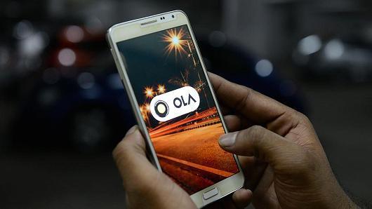Uber在印度最大的竞争对手专车公司Ola宣布,获腾讯和软银11亿美元融资