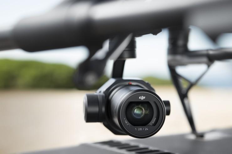 DJI大疆推出禅思Zenmuse X7云台相机,支持6K视频摄制