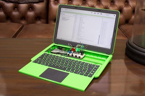 树莓派推出滑动式键盘笔记本,可以通过编程DIY自己的电脑