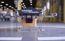 亚马逊新专利,让无人机运送充电器为电动车充电