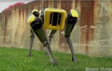 被软银收购后,波士顿动力公司发布全新版本的SpotMini机器人